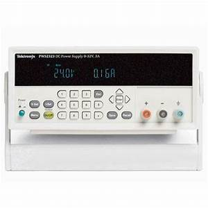 Tektronix Pws2000 Manual Dc Power Supply  Output Voltage