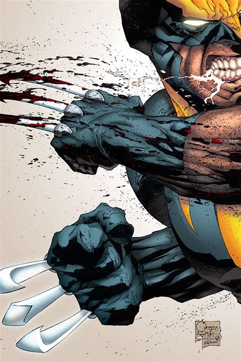 Comics Forever, Wolverine  Artwork By Joe Quesada, Danny