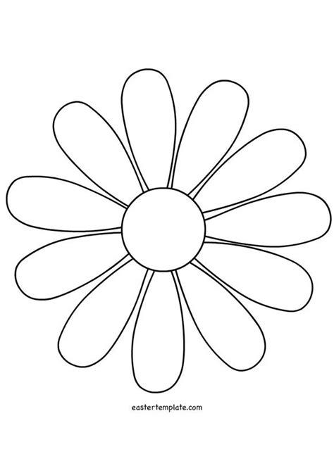daisy flower template flower template flower outline