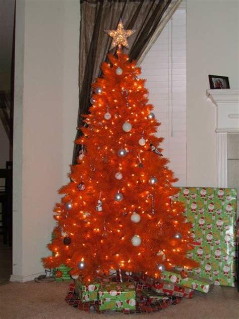 orange-christmas-tree-design-ideas