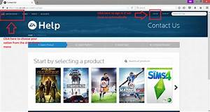 Help Ea Com : how to contact a game advisor using the new ea help page answer hq ~ Markanthonyermac.com Haus und Dekorationen
