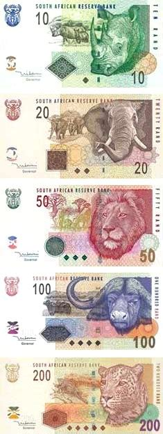 south african rand currency flags of countries