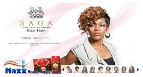 Milkyway Saga Gold Remy 100% Human Hair Weave