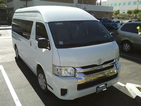 Toyota Hiace Usa toyota hiace spotted in usa probably a visitor from