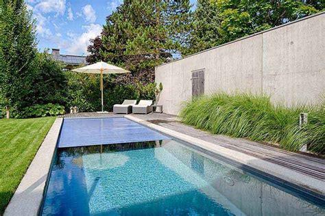 liegebank garten richtige planung schwimmbecken pools im eigenen garten