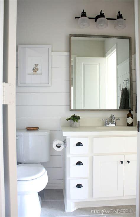 Shiplap For Bathroom Walls by Shiplap Boy S Bathroom Reveal Wonderful
