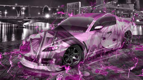 mazda rx jdm tuning anime girl aerography city energy car