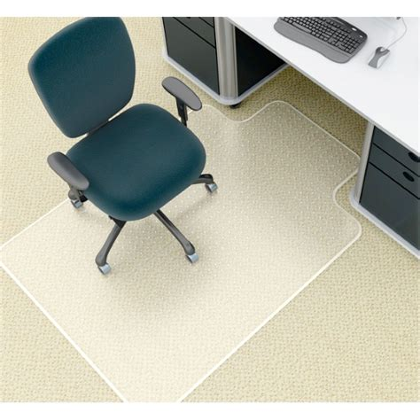 marbig high pile carpet deluxe chairmat office way