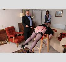 Katie And Sarah Caned At Unladylike Manor Spanked