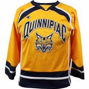 Quinnipiac University Bobcats Hockey Youth Replica Hockey ...