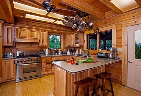 cabin kitchen design ideas log cabin interior design 47 cabin decor ideas 5047
