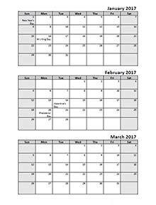 Calendar Template 3 Months Per Page by Unique 2018 Calendar 3 Months Per Page Print Calendar