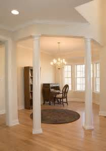interior home columns luxury living room decors with tapered plain interior columns added rounded living room
