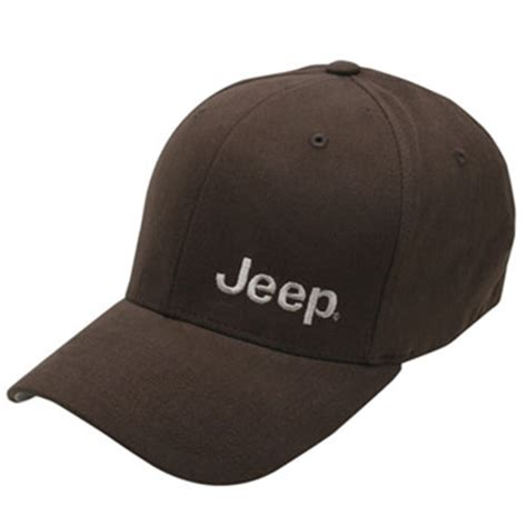 jeep hat all things jeep jeep embroidered flexfit hat brown