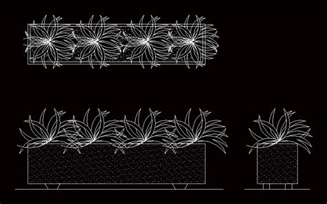 planter box  autocad  cad   kb
