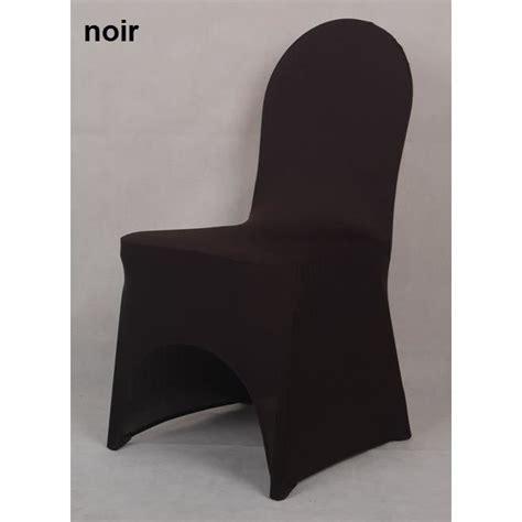 housse de chaise en lycra spandex noir achat vente housse de chaise cdiscount