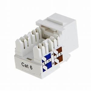 Cat6 Rj45 Keystone Module Connector