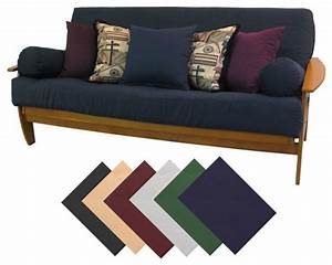 Premium queen size upholstery grade twill futon cover for Sofa bed mattress cover queen