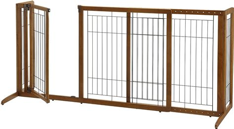 gate with door richell deluxe freestanding gate with door for dogs cats