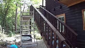 Sichtzäune Aus Holz : aussentreppe aus holz mit gitterrost und podest aus ~ Watch28wear.com Haus und Dekorationen