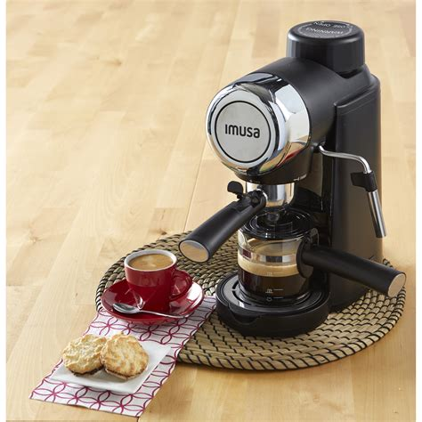 Thanks to imusa (imusa usa) for sending this over! IMUSA IMUSA Electric Espresso/Cappuccino Maker 4 Cup 800 Watts, Black - IMUSA