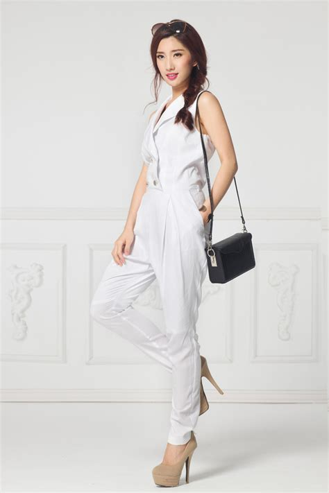 formal white jumpsuit black and white formal jumpsuits pictures to pin on