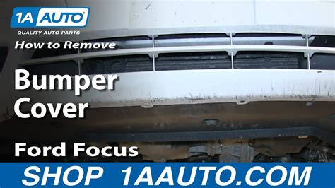 remove front bumper cover   ford focus youtube