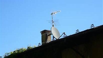 Antenne Antennista Antenna Terrestre Satellitare Onde Catturano