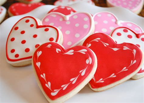 valentines day cookies valentine s sugar cookies recipe dishmaps