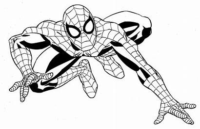 Superheroes Coloring Super Marvel Heroes Pages Drawing