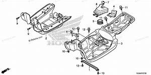 Honda Scooter 2015 Oem Parts Diagram For Floor Step