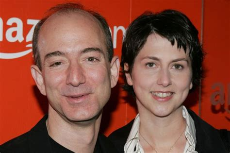 Jeff Bezos and Mackenzie Young