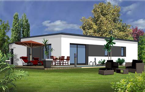 plan de maison plain pied moderne incroyable plan maison 90m2 plain pied 9 maison moderne 3 chambres evtod