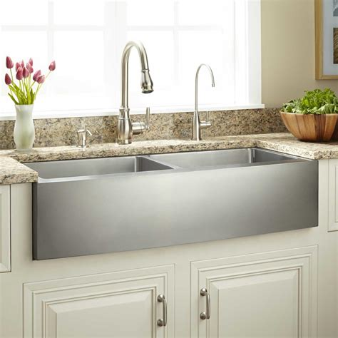 stainless steel farmhouse kitchen sink 30 quot optimum stainless steel farmhouse sink kitchen 8235
