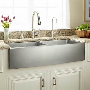 30quot optimum stainless steel farmhouse sink kitchen With barnyard sink