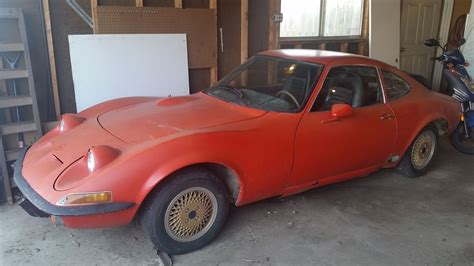 Opels For Sale by Home Reno Forces Sale 1973 Opel Gt