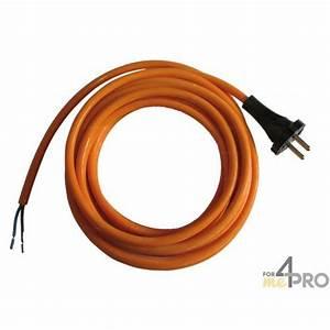 cable electrique en caoutchouc 3 m norme ho5rrf en 2x1 With cable electrique exterieur norme