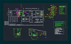 Plane Electric Sub Station Dwg Detail For Autocad  U2013 Designs Cad