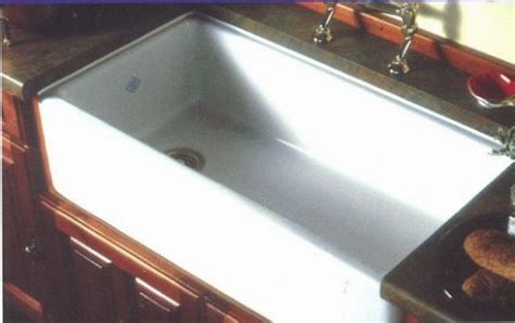 Shaw Farm Sink Rc3018 by Rohl Shaws Sinks Quot Original Quot Fireclay Kitchen Sink 18 L X