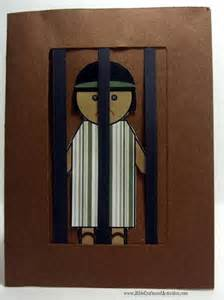 Joseph in Jail Bible Crafts