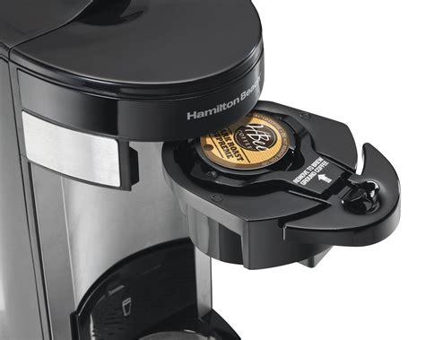 Why will my flexbrew® coffee maker not brew? Hamilton Beach FlexBrew Single Serve Coffeemakers | eBay