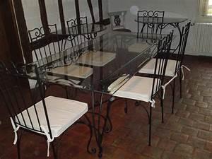Table Verre Et Fer Forgé : boutons de meuble en verre centerblog ~ Teatrodelosmanantiales.com Idées de Décoration