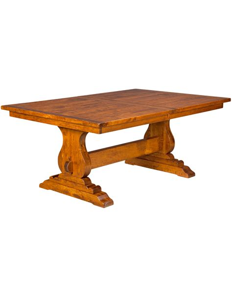Trestle Dining Table by Trestle Dining Table Amish Direct Furniture