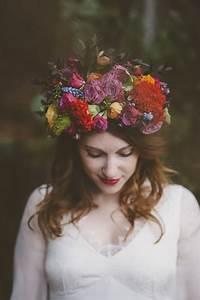 La Mariée Aux Pieds Nus : lovely pics couronne de fleurs par la mari e aux pieds ~ Melissatoandfro.com Idées de Décoration