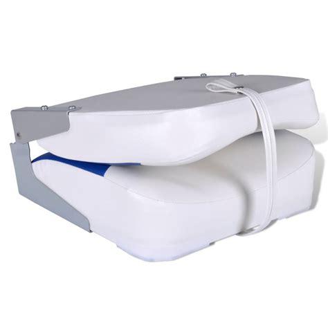 siege bateau pas cher acheter siège pliant pour bateau avec coussin bleu et