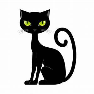 Vinilo Gato Negro, Pegatinas Niño Animales-Deco Soon