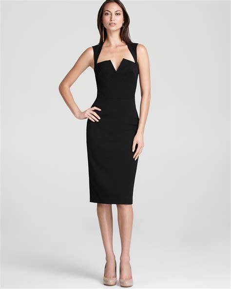 bed with attached black halo dress laurence sleeveless bloomingdale 39 s