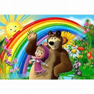 Und Der Bär : mascha und der b r torten druck bild auf a4 ~ Orissabook.com Haus und Dekorationen