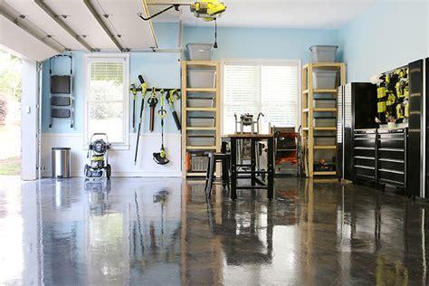 RockSolid Metallic Garage Floor with Bower Power