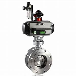 High Performance Butterfly Valve With Pneumatic Actuator
